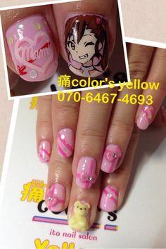 アイドルマスター : Character nail art