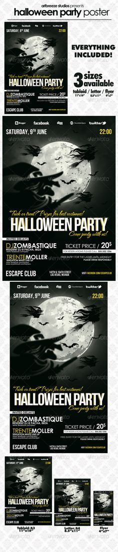 more info and PSD download: http://graphicriver.net/item/halloween-party-psd-template/3069077?ref=artbreeze