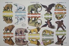 recortable animales salvajes. recortables la ti | 17125915