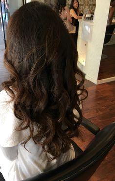 Bride.  Volume.  Pinned curls.  Teased.