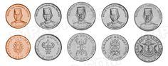 Brunei,  set of 5 uncirculated coins