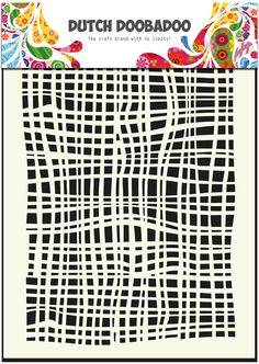 470.715.007 Dutch Doobadoo Mask Art Fabric Formaat A5