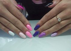 Stunning colour display with bling.