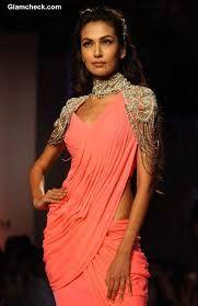 Modern sari- That is gorgeous