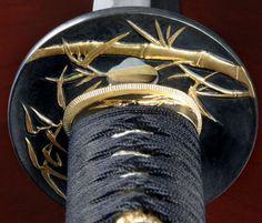 Japanese sword guard -Tsuba-