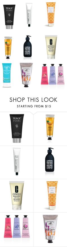 """""""Don't forget your hand"""" by cecjones ❤ liked on Polyvore featuring L:A Bruket, La Compagnie de Provence, Clinique, Vera Bradley, Crabtree & Evelyn and Pré de Provence"""