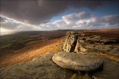 Stanage Edge - Peak District | Dark Peak This is where my ashes will go when I die.