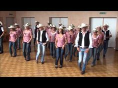 Canadian Stomp - countrEmotion Line Dancers, Eschenbach SG - YouTube