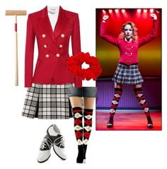 """""""Heather chandler (heathers the musical)"""" by cookie-4602359 ❤ liked on Polyvore"""