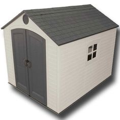 Garden Sheds - Lifetime 8x10 Heavy Duty Plastic Shed