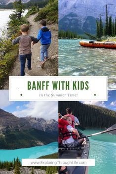 Summer Things to do in Banff with Kids - Summer in Banff is one of the most gorgeous places I've ever been! Make sure your kids love it ju - Hiking With Kids, Road Trip With Kids, Family Road Trips, Family Travel, Family Vacations, Alberta Canada, Banff Canada, Summer Things, Things To Do