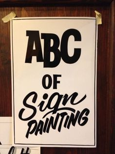 Just a sketch by master sign painter Pierre Tardif from Canada.