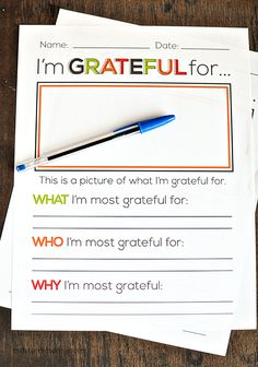 I'm grateful for. Thanksgiving printable from Thirty Handmade Days Thanksgiving Parties, Thanksgiving Activities, Thanksgiving Crafts, Holiday Crafts, Holiday Fun, Holiday Ideas, Holiday Games, Fall Crafts, Christmas Ideas