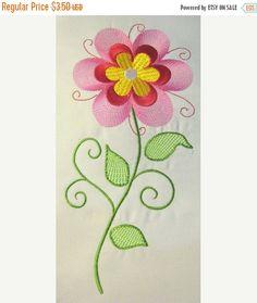 50 % Rabatt auf Verkauf Vintage Flower 10 gefüllte von KCDezigns