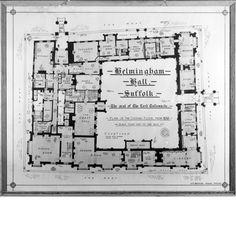 Helmingham Hall, Suffolk. Ground floor plan 5165789.jpg (600×600)