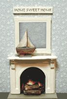 """1/4"""" scale KIT - Measures 1 11/32"""" wide, 3/8"""" deep and 1 1/16"""" tall"""