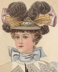 Ladies Promenade Hat from November 1896