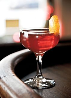 Seelbach: The Seelbach Hotel's grand, saloon-style counter reportedly created this signature cocktail when a bartender used a Manhattan to catch the overflow from an uncorked Champagne bottle.