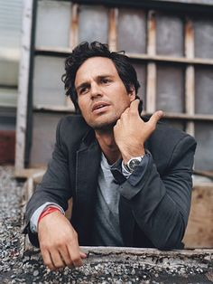 Mark Ruffalo  -Movie 'now you see me' was very good. TG