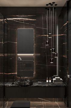 Visual Effects,Architecture,Interior Design Bathroom Toilets, Washroom, Toilet Design, Bathroom Interior Design, Restroom Design, Dark Interiors, Apartment Interior, Exterior Design, Interior Architecture