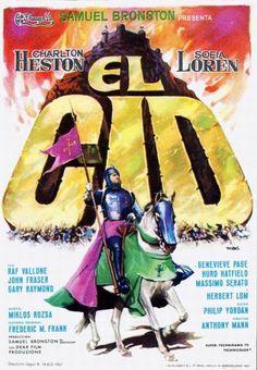 El Cid (1961) Spanish poster