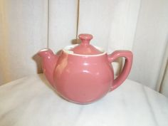 Vintage Hall Single Serve Teapot Tea Pot Made in the USA