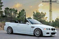 BMW E46 M3 cabrio in Alpine White