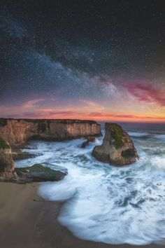 Shark Fin Cove California US