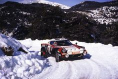 This stunning shot of the Lancia Stratos HF shows Sandro Munari in the 46ème Rallye Automobile de Monte-Carlo circa 1978. Sadly, Munari didn't make it to the end of the corse as the Lancia's engine let itself go shortly after this photograph was taken, Munari did manage to win in 1975, 1976 and 1977 however and he was on track to win the '78 race, before the inside parts of the engine exploded through the outside parts of the engine. Click the image for the full 1600 x 1072 pixel version…