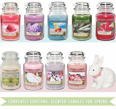 Yankee candle spring summer collection, yankee candle easter candles