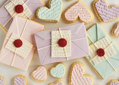 Darling cookie valentines! :)