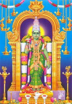 Goddess Sri Meenakshi
