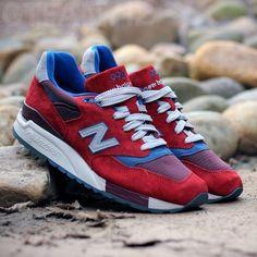 #NewBalance 998 J.Crew – Red