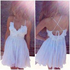 Cute white dress <3