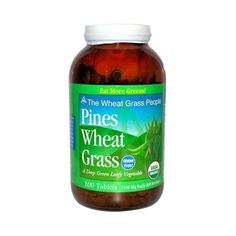 Pines International Organic Wheat Grass 500 Mg Tablets, 100 Count * See this awesome image  : Herbal Supplements