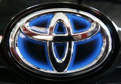 Looks A Bit Other Worldly If You Ask Me. #toyota #emblem