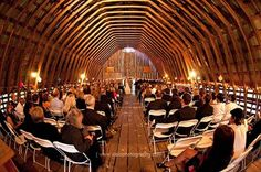 barn. ceremony.