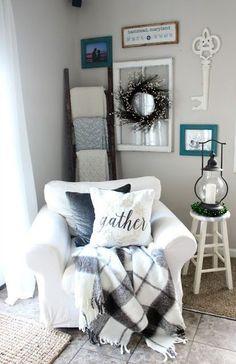 How To Make Your Home Cozy Farmho http://www.grifoso.com/moderno-cuarto-de-ba%C3%B1o-cascada-grifo-del-fregadero-con-ca%C3%B1o-de-vidrio-acabado-en-cromo-p-255.html
