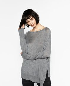 Image 2 of ASYMMETRIC SWEATER from Zara
