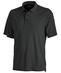Buy the Charles River Apparel 3516 Men's Shadow Stripe Polo from SweatshirtStation.com, on sale now for $23.93 - Black