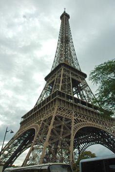 Eiffel Tower - Paris, France. International Historic Civil Engineering Landmark