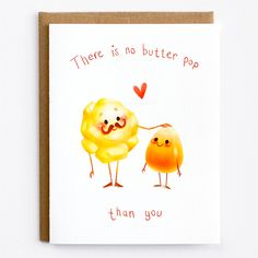 No Butter Pop Mudsplash Studios Dad Birthday Cards Puns Quotes