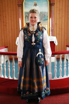 Me in my Nordlandsbunad. It was my grandmothers before...
