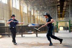 Falke - Der moderne Ritter: what fencing means / Duisburg