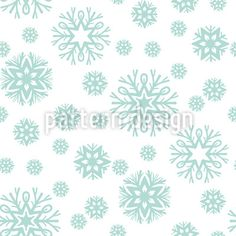 Beauty Of Snowflakes Pattern Design Vector Pattern, Pattern Design, Snowflake Pattern, Surface Design, Snowflakes, Patterns, Crystals, Winter, Beauty