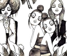 Cassandra Rhodin, Fashion Illustrator