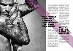 Skin/Ink Tattoo Magazine on Behance