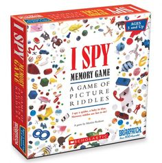 I Spy Memory Game - Briarpatch - Events