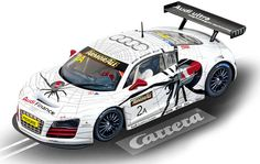 Carrera Digital 124 - Audi R8 LMS Team Phoenix, No.2A (23793) - CARRERA DIGITAL 124 - AUDI R8 LMS  Rennbahn