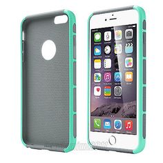 For Apple iPhone 6/6 Plus Hybrid Rubber Rugged Impact Protective Case Hard Cover